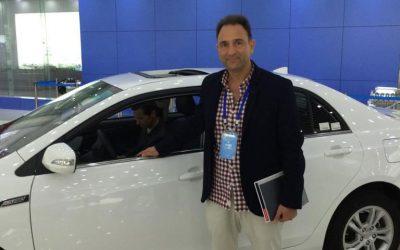 Test Drive de auto eléctrico de BYD en Changshá, China