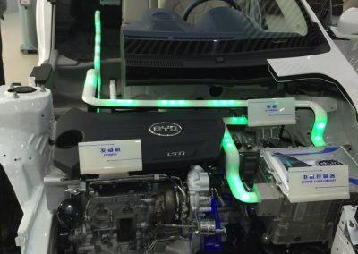 Gustavo Eglez visitando planta autos eléctricos BYD Shangshá China