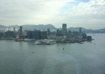 Gustavo Eglez visitando fondos de inversión en Hong Kong